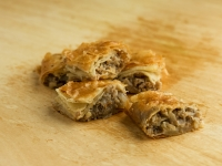 Minced meat Bougatsa pie