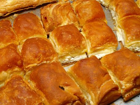 Photo of yummy greek cheese pie (pitta)